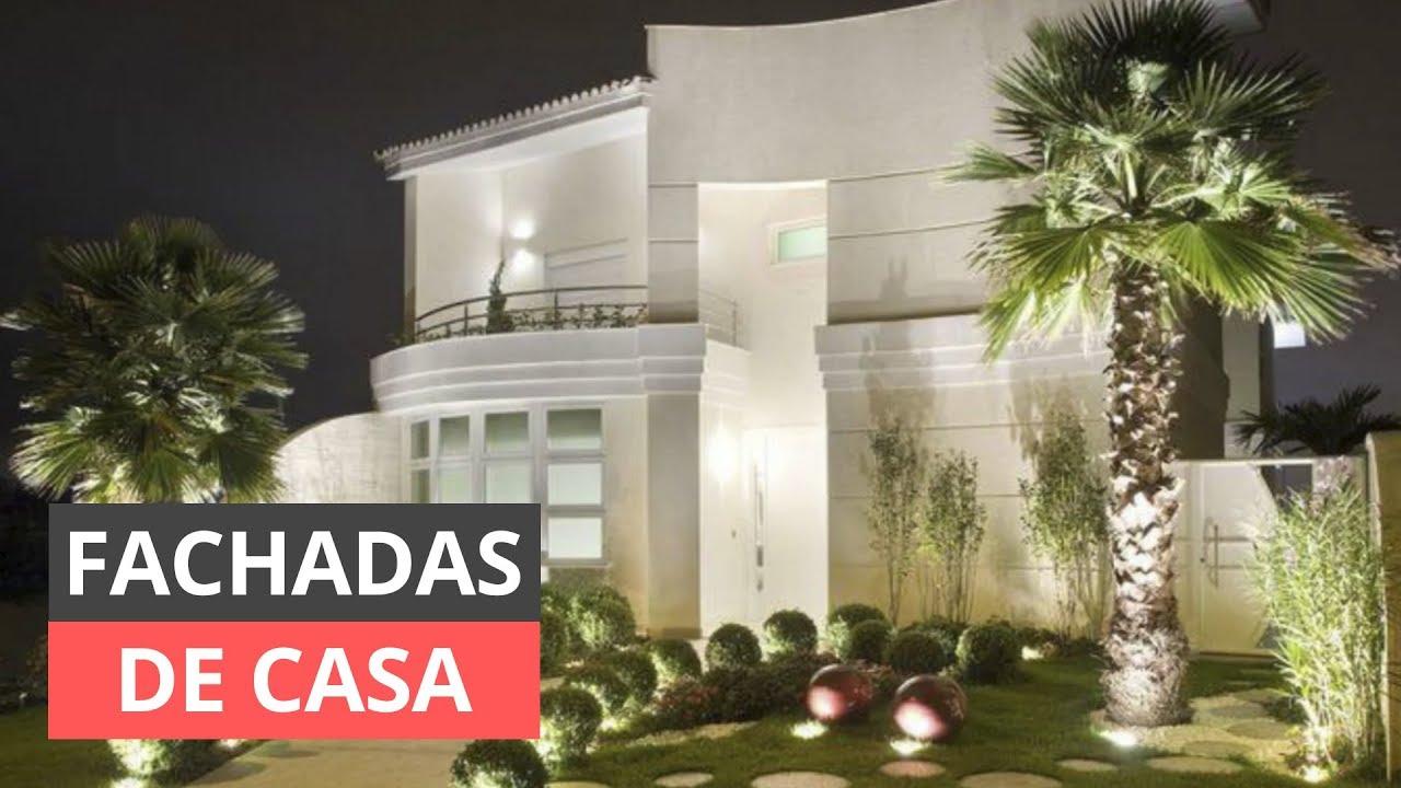 Fotos de fachadas de casas bonitas para inspirar youtube for Fachadas de casas ultramodernas