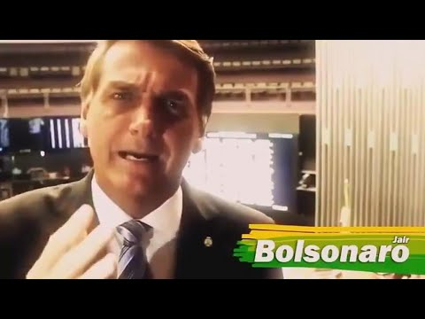 JAIR BOLSONARO DESMASCARA JORNAL PETISTA FOLHA DE SÃO PAULO