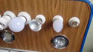 видео Галогеновые лампы для дома