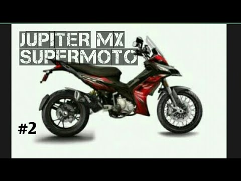 Modifikasi Jupiter Mx Supermoto Part 2 Youtube