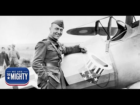 Cpt. Eddie Rickenbacker was the Ace of Aces of World War I