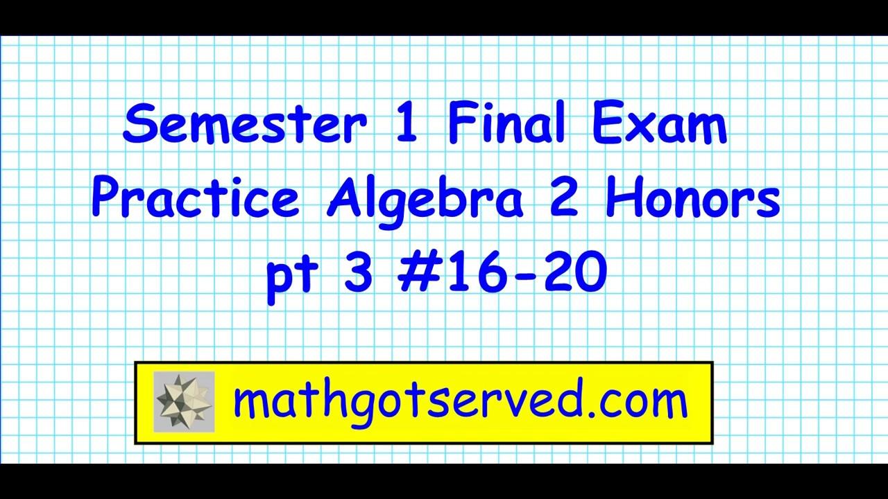 math final exam Review for final exam 2 final review triola, essentials of statistics, third edition  final review triola, essentials of statistics, third edition.