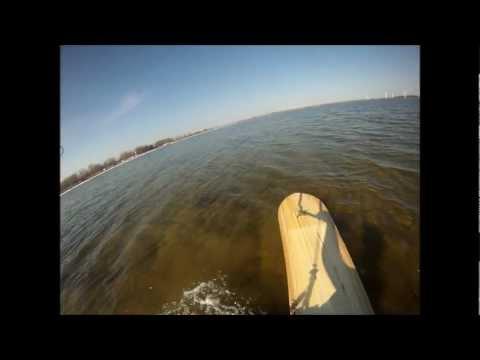 Flysurfer Speed 3 21² DLX & Alaia 174 x 44 - Kitesurfing @ 7kn