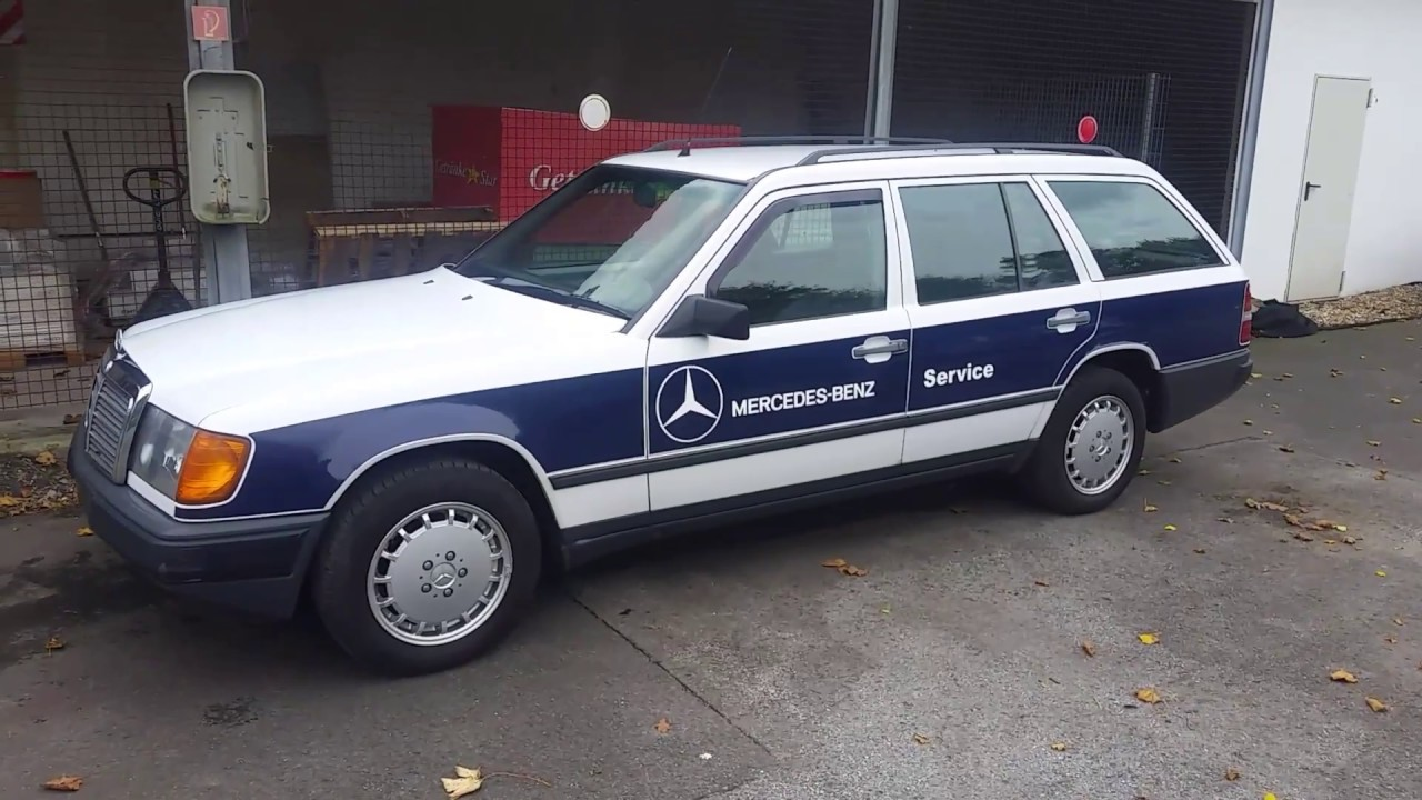 1986 mercedes benz 200 td service 24h wagen roadside for Mercedes benz road side assistance
