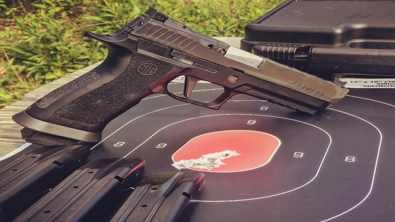 Sig Sauer P320 X-FIVE FULL-SIZE Review
