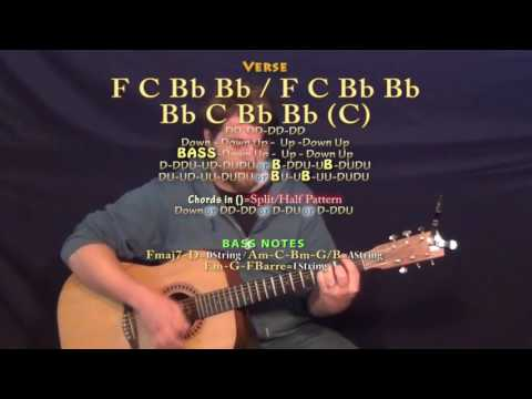 Better Man (Little Big Town) Guitar Lesson Chord Chart in F Major