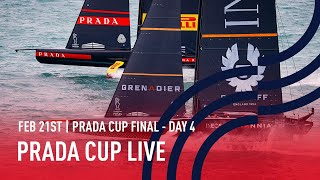Full Race Replay Day 4 | PRADA Cup FINAL | Luna Rossa Prada Pirelli vs INEOS TEAM UK