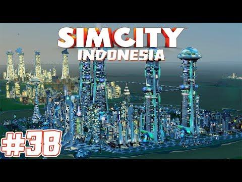 Nyobain Mod Dan Menambahkan Safety Level Megatower - SimCity 5 Indonesia | #38
