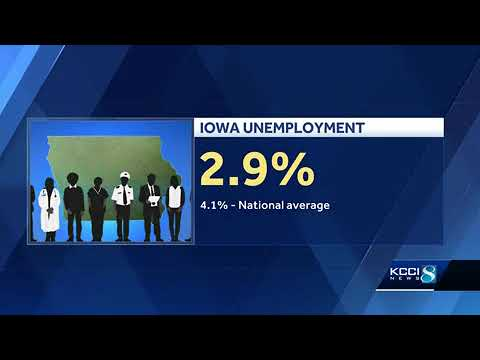 Iowa's unemployment rate holding steady