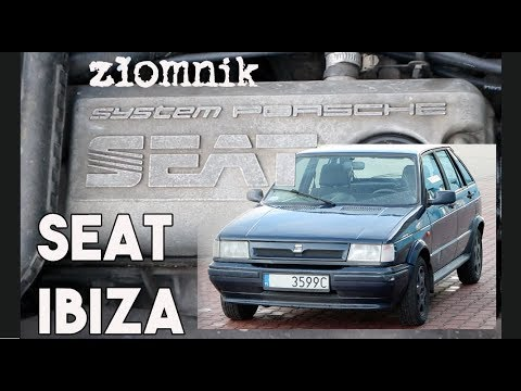 Złomnik: Seat Ibiza System Porsche / hiszpański ze Złomnikiem