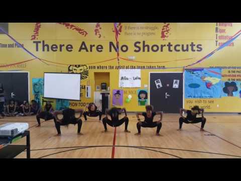7th grade 2017 African Dance