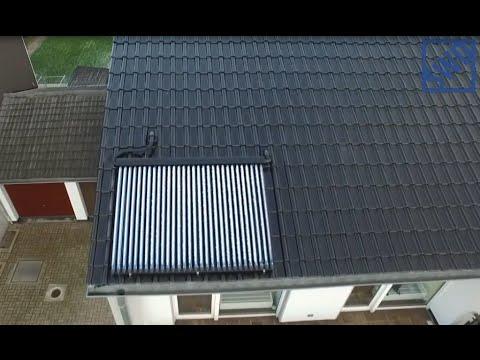 Swd Tv Teil 8 5qm Rohrenkollektor Solaranlage Im Winter Bei