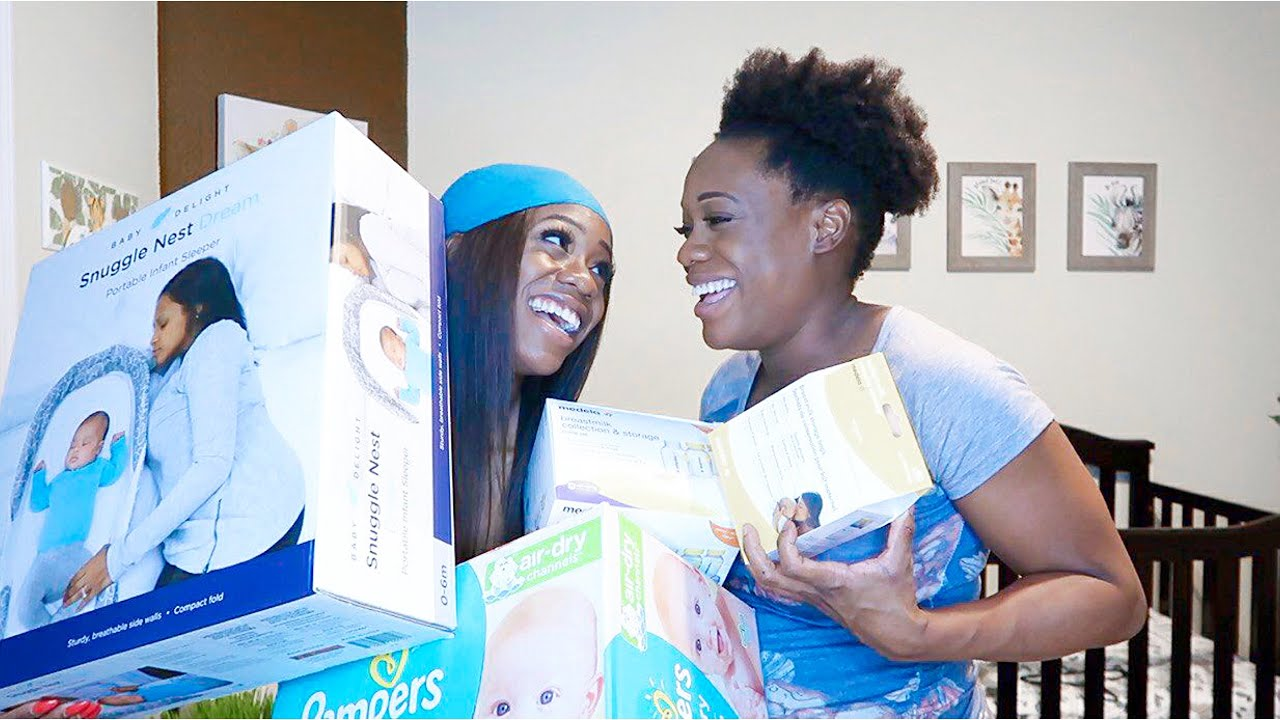 Surprising My Pregnant Twin Sister with Baby Shopping Spree!