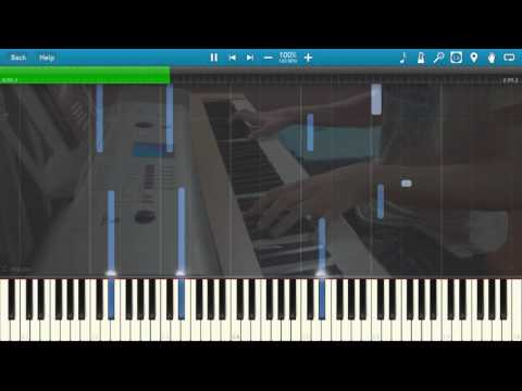 The Forest: Main Menu Theme - Gabe Castro (Piano Tutorial) [Synthesia]