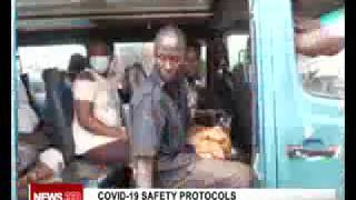 Covid-19 safety protocols in Public Transport