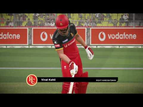 Don Bradman Cricket 17 // Royal Challengers Bangalore vs SunRisers Hyderabad // IPL Match Live #29