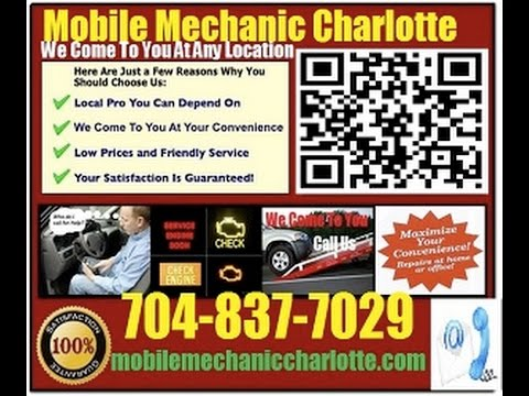 Mobile Mechanic Charlotte NC 704-837-7029 Auto Car Repair Service