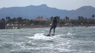 russian kite student mallorca kitesurfing school www kitemallorca com yuri alejandose