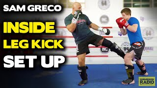 Landing Inside Leg Kicks Against Very Defensive Opponents - by Sam Greco