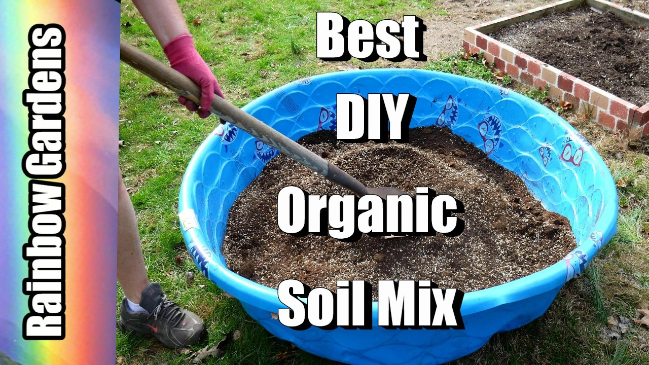 Diy The Best Organic Soil How To Make Square Foot Garden Mix Mel S