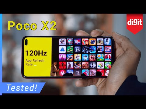 Tested! Poco X2 120Hz Gaming Performance Test - Can You Play Games @ 120 FPS On The Poco X2?