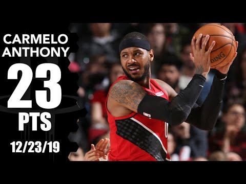carmelo-anthony-scores-23-points-in-pelicans-vs.-trail-blazers-|-2019-20-nba-highlights
