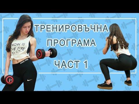 БЕЗПЛАТНА ТРЕНИРОВЪЧНА ПРОГРАМА ЗА ЖЕНИ | Тренировка А