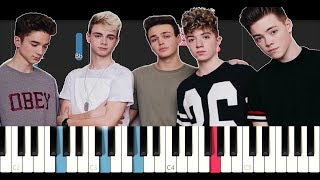 Why Don't We - These Girls (Piano Tutorial)