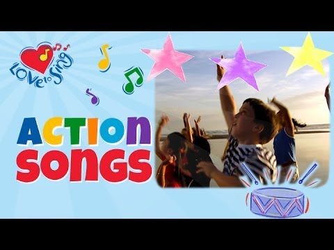 Touch the Stars with Lyrics | Kids Action...