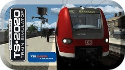 Train Simulator 2020 🚝 #RB2 nach Mannheim *PC/HD/TrackIR/60FPS/DE*