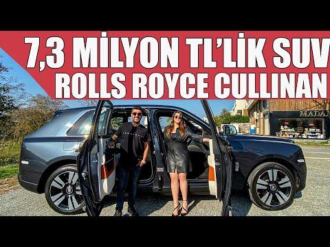 Rolls Royce'un Yeni Suv'u Cullinan | Türkiye'de İlk Test