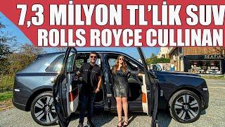 Rolls Royce'un Yeni Suv'u Cullinan   Türkiye'de İlk Test