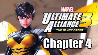 Marvel Ultimate Alliance 3: The Black Order - Gameplay Walkthrough Part 4 (Chapter 4)