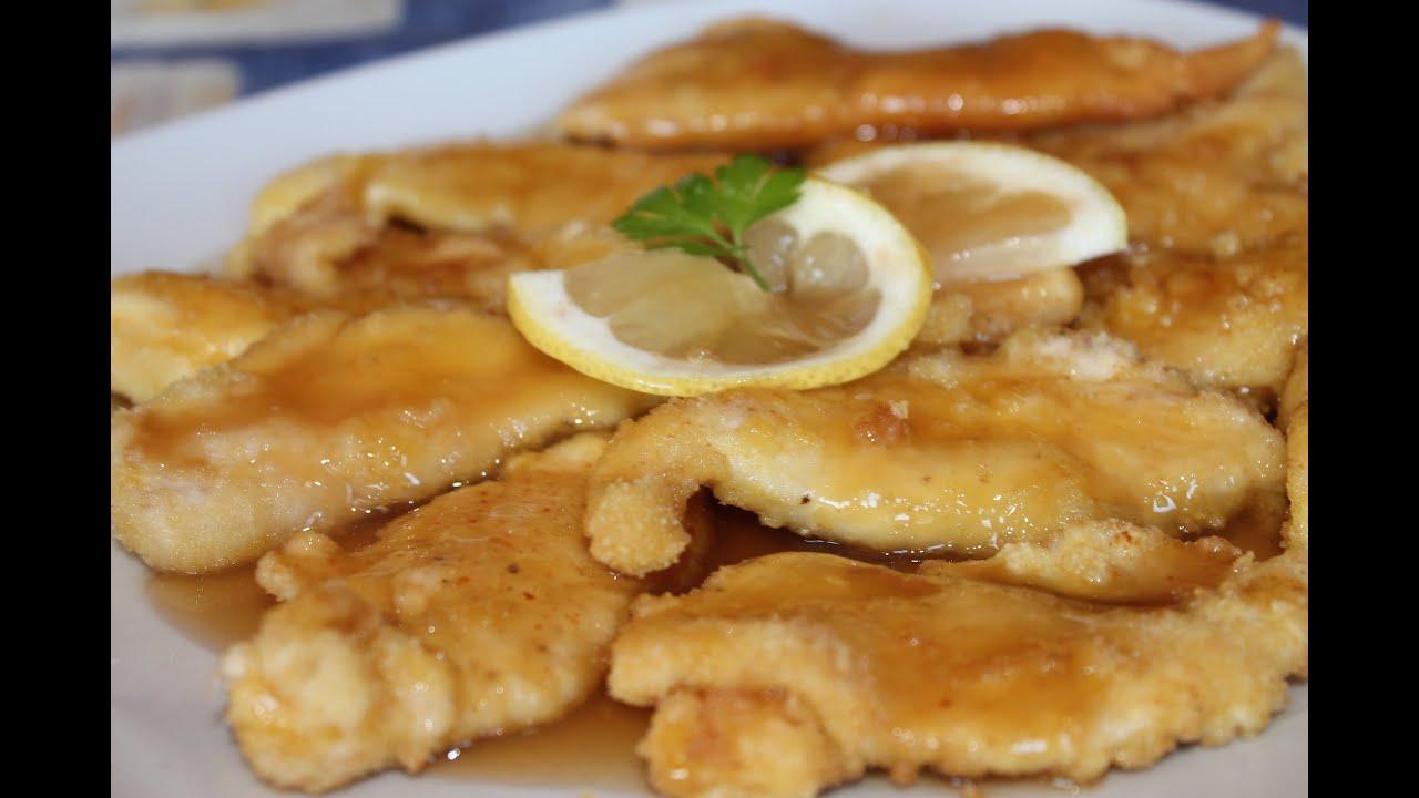 Pollo al lim n estilo chino chinese lemon chicken - Pechugas de pollo al limon ...