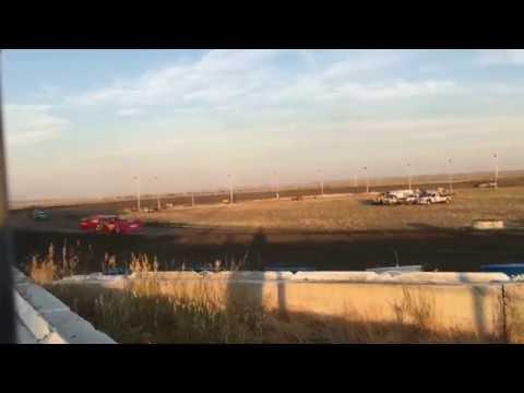 7/1/2016 BMP Speedway heat race (outside)