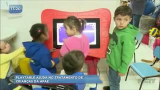 Tecnologia ajuda no tratamento de crianças da APAE
