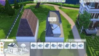 Sims 4 Mansard Roofing Tutorial