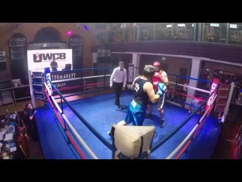 Ultra White Collar Boxing   Shrewsbury   Chris Cartwright VS Ryan Griffiths