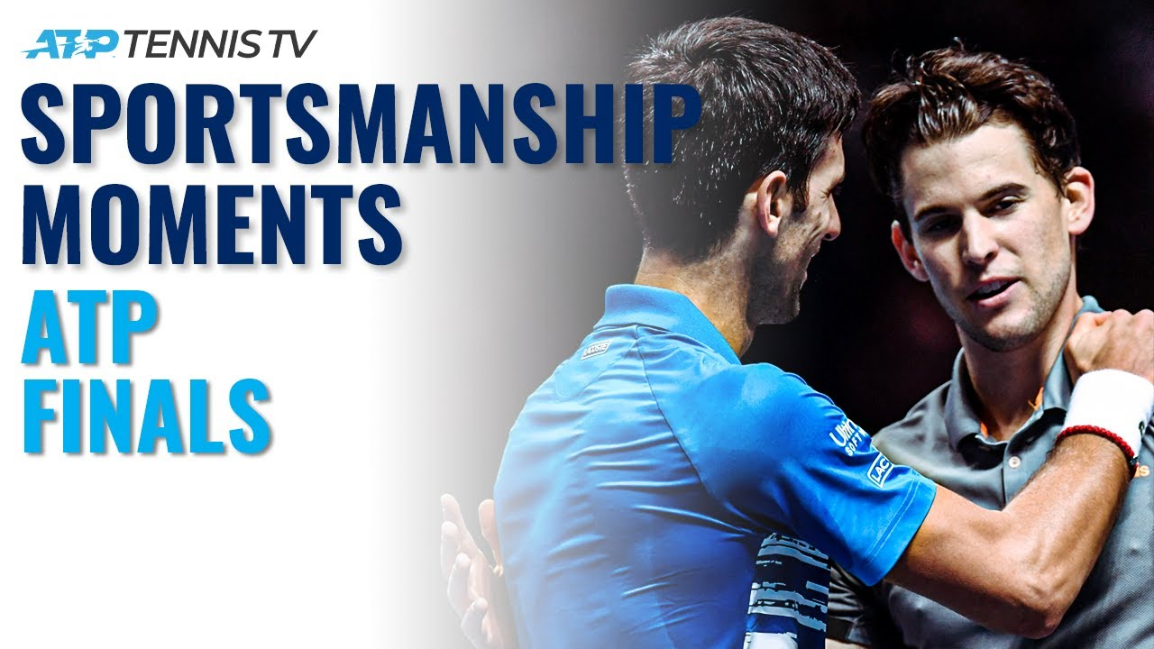 Best Tennis Sportsmanship Moments from the ATP Finals 👏