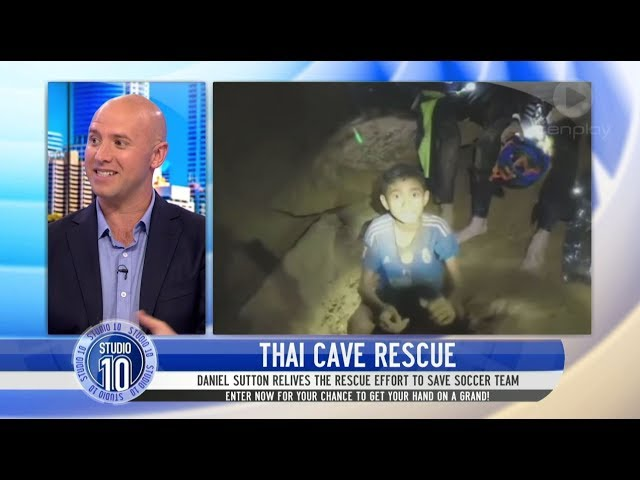 What We Didn't See From The Thailand Cave Rescue | Studio 10