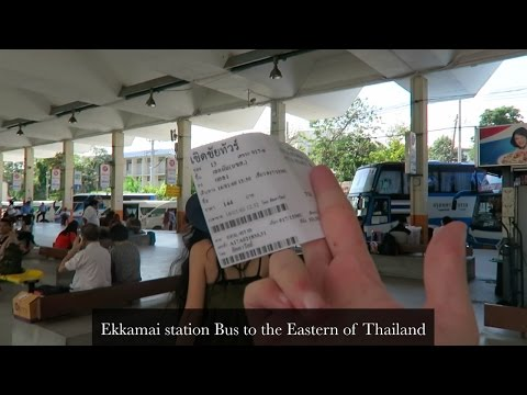 Ekkamai station Bus to the Eastern of Thailand