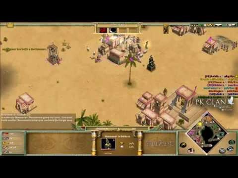 Age Of Mythology: TeamGame On Oasis +Teamspeak Chat