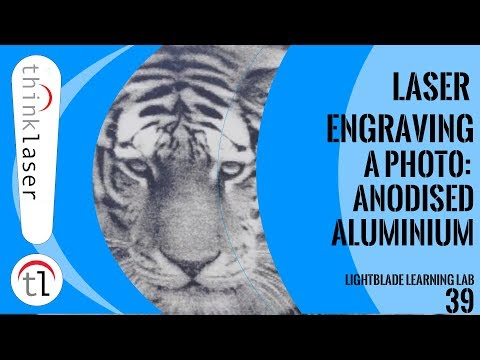 Laser Engraving a Photo: Anodised Aluminium Tutorial Part 1 (2018)