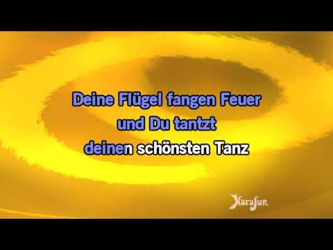 Karaoke Deine Flügel fangen Feuer - Andreas Martin *