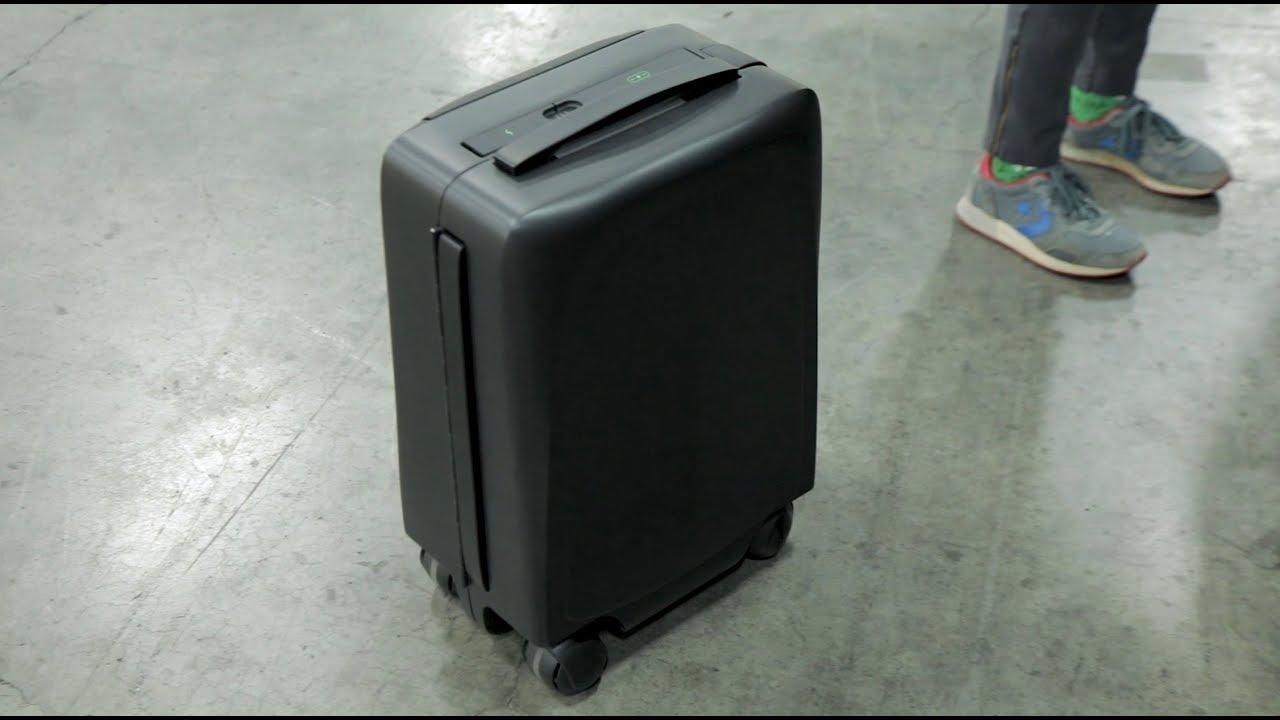 a1fc8086fa4 ForwardX AI self following suitcase - YouTube