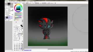 Drawing Chao Shadow