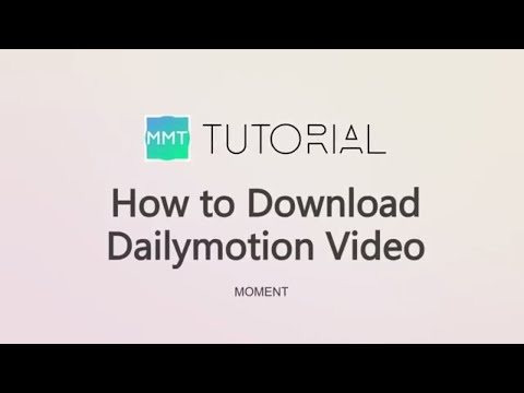 [TUTORIAL] How to download Dailymotion video? Work in Any Device