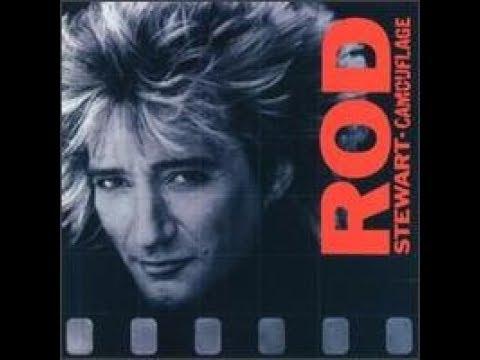 Rod Stewart - Camouflage    VINYL    side A  1984