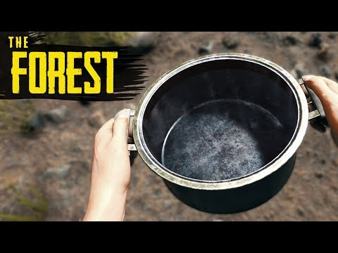 How to GET CLEAN WATER! The Forest Beginner's Guide