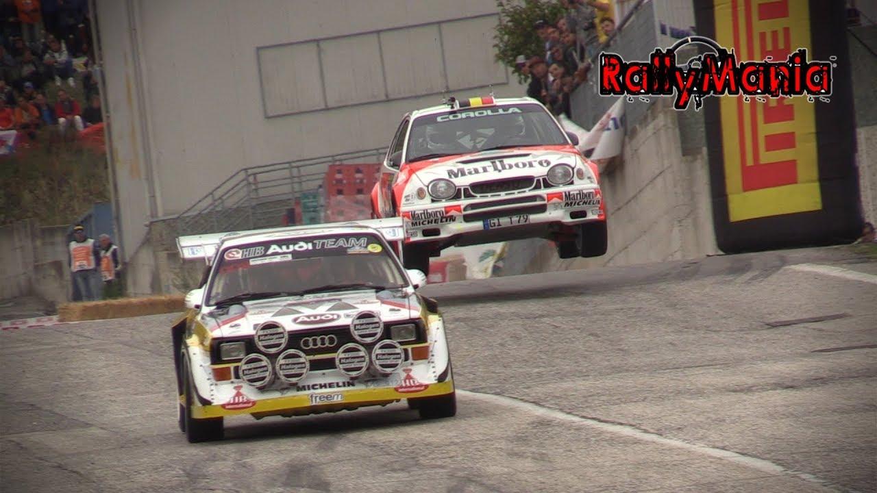 Classic Design Italia San Marino.15º Rally Legend San Marino 2017 Big Show Jumps Mistakes Hd
